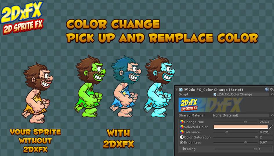 ColorChange - 2DxFX 2 x for Unity 5 x - Documentation (c