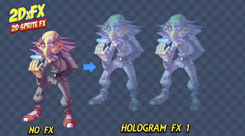 Hologram - 2DxFX 2 x for Unity 5 x - Documentation (c